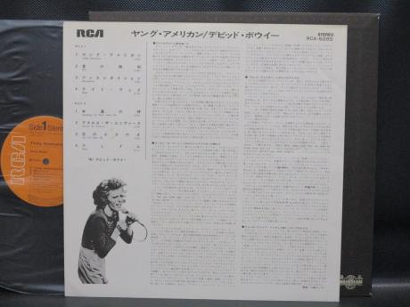 David Bowie Young American Japan Orig. LP INSERT