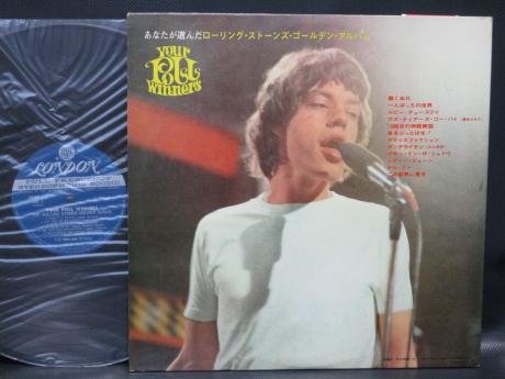 Rolling Stones Golden Album Japan ONLY LP MEDAL OBI