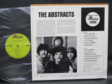Abstracts S/T Same Title US Orig. LP Pompeii EX+
