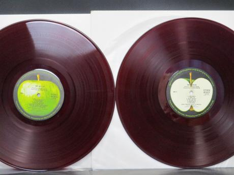 Beatles White Album Japan Orig. 2LP RED WAX