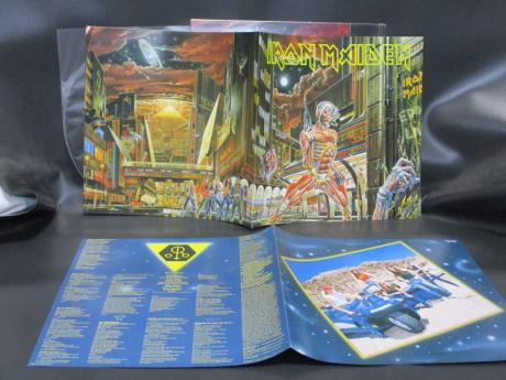 Iron Maiden Somewhere in Time Japan Orig. LP PHOTO BOOKLET