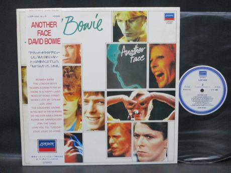 David Bowie Another Face Japan PROMO LP OBI WHITE LABEL