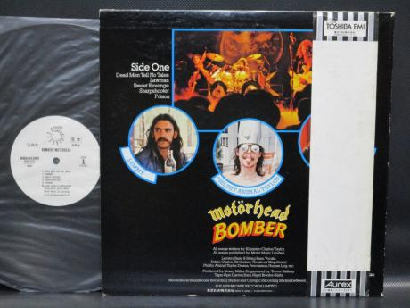 Motorhead Bomber Japan Orig. PROMO LP OBI WHITE LABEL