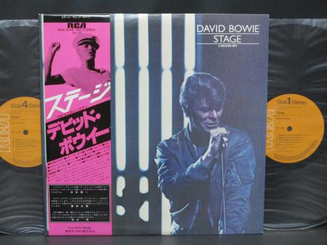 David Bowie Stage Japan Orig. 2LP OBI INSERT