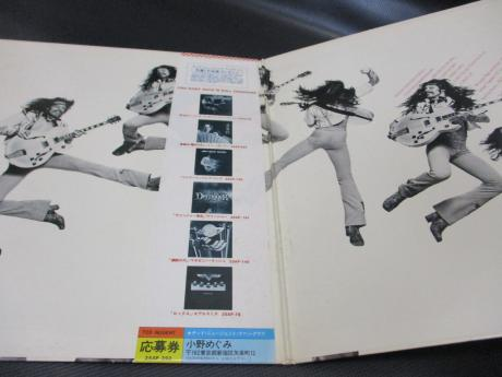 Ted Nugent Free For All Japan Orig. LP OBI