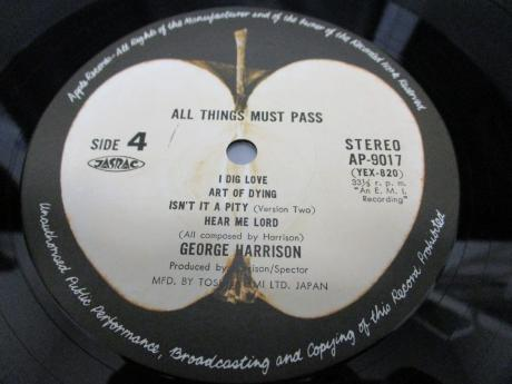 George Harrison All Things Must Pass Japan Forever 3LP OBI BOX SET