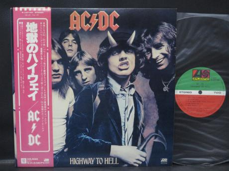 AC/DC Highway to Hell Japan Orig. LP OBI INSERT