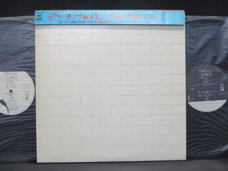 Pink Floyd Wall Japan Early Press 2LP CAP OBI NM/NM