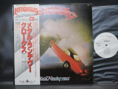 Krokus Metal Rendez-Vous Japan Orig. PROMO LP OBI WHITE LABEL