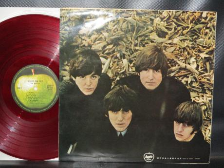 Beatles For Sale Japan Apple 1st Press LP G/F RED WAX