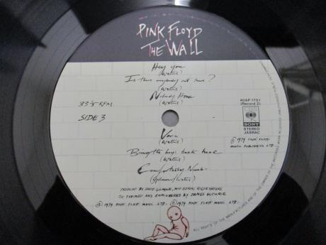 Pink Floyd Wall Japan Orig. 2LP CAP OBI
