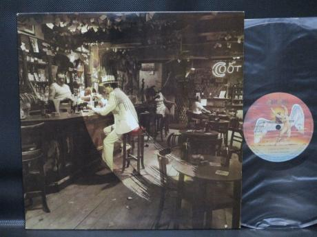 Led Zeppelin In Through the Out Door Japan LP RED OBI OUTER COVER