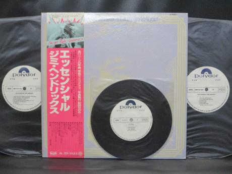 Jimi Hendrix Essential Japan PROMO 2LP OBI + 7