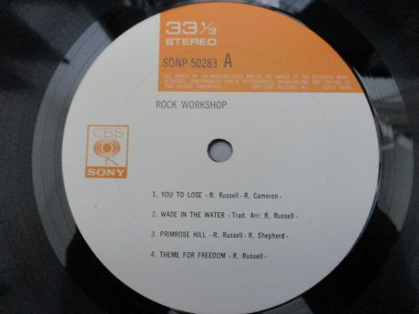 Ray Russell Rock Workshop 1st S/T Same Title Japan Orig. LP DIF