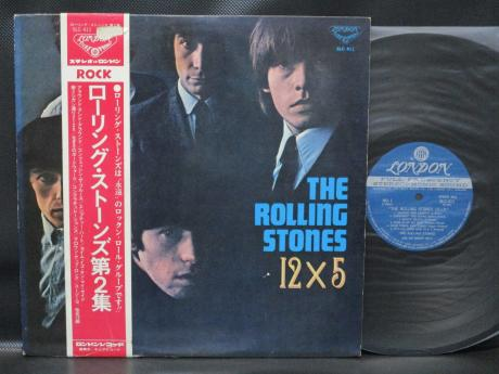 Rolling Stones 12 X 5 Japan Rare LP RED & WHITE OBI 1972