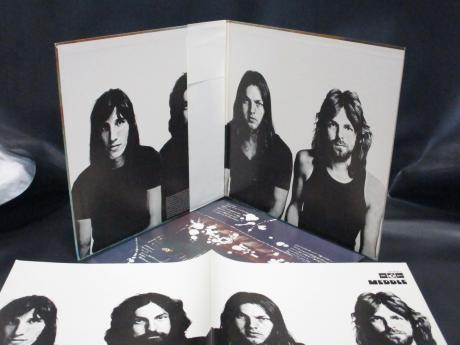 Pink Floyd Meddle Japan Early Press LP OBI BOOKLET ODEON