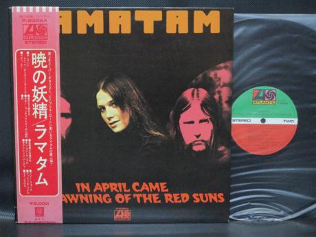 Ramatam In April Came the Dawning of the Red Suns Japan LP OBI